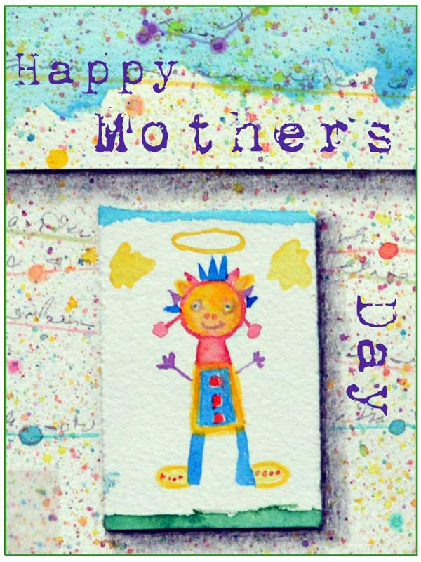 Happy Mothers Day card #327 by ©Kathleen O'Brien