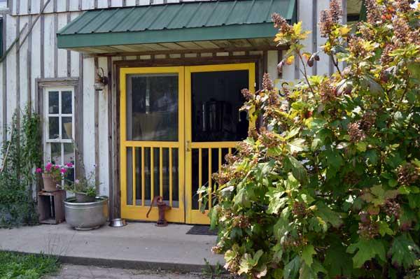 Sunflower Sundries Market Shop entrance