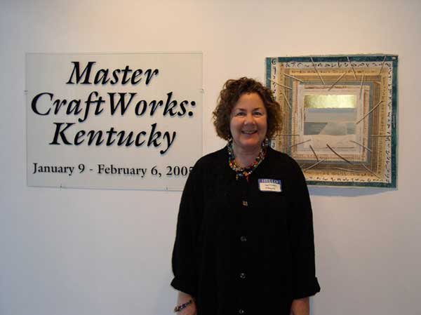 "© Kathleen O'Brien, ""Book of Light, page 71"" at ""Master CraftWorks: Kentucky"" exhibit, 2007"