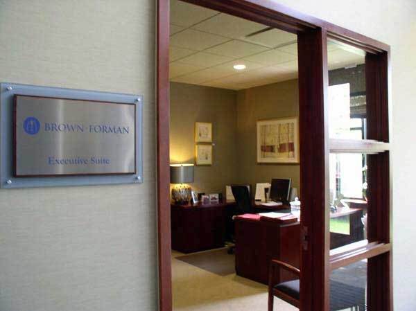 Executive Suite at the KY Chamber of Commerce, with Above and Beyond and two Treasure Maps