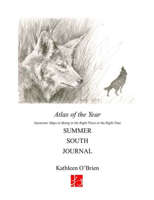 Atlas of the Year, Summer~South Journal by Kathleen O'Brien