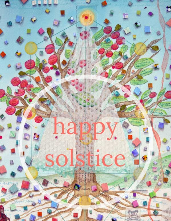 Happy Solstice Card