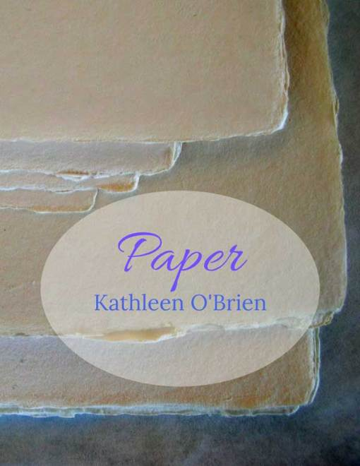 Paper ebook Cover by Kathleen O'Brien