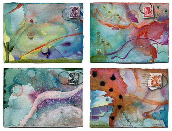 4 seasons-4 directions Card Set 2020, ©Kathleen O'Brien