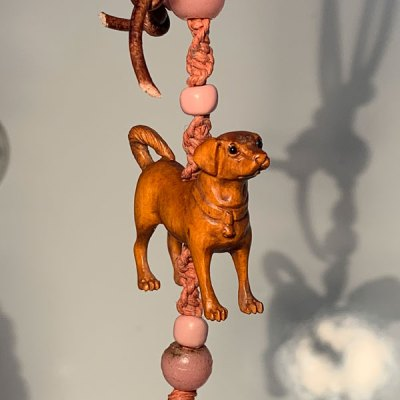 Amulet for Dogs by Kathleen O'Brien, detail