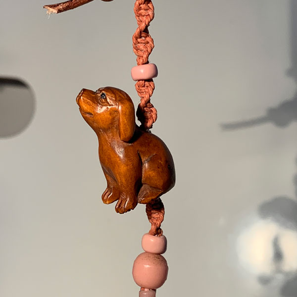 Amulet for Puppies by Kathleen O'Brien, detail