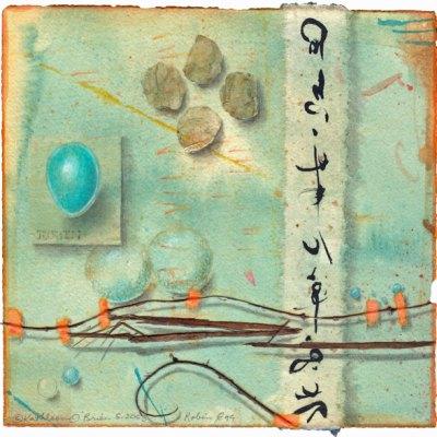 Robin Egg, giclee print ©Kathleen O'Brien