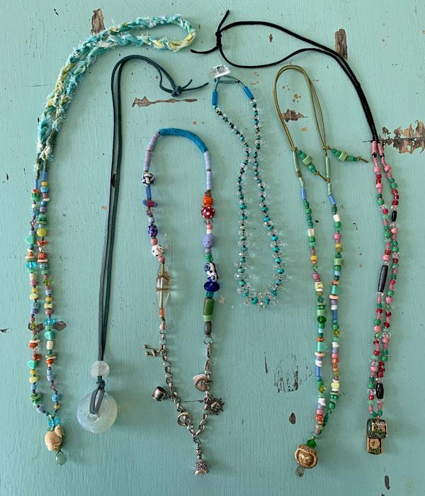 6 New Necklaces, ©Kathleen O'Brien