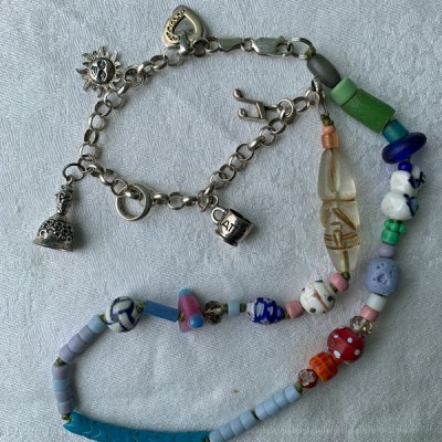 Talisman for Cheer, necklace by Kathleen O'Brien
