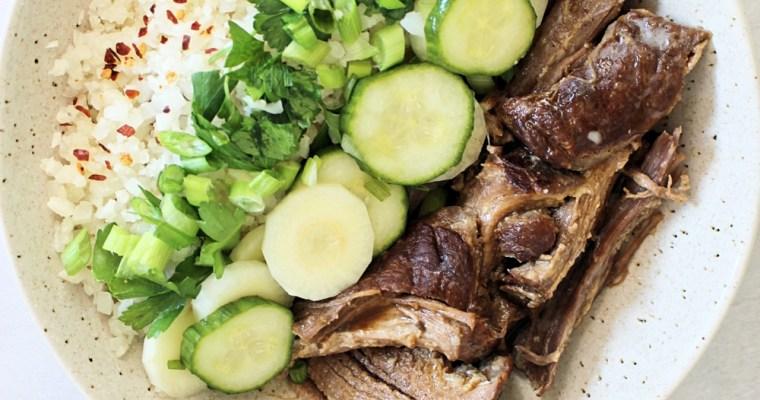 Slow Cooker Banh Mi Bowls