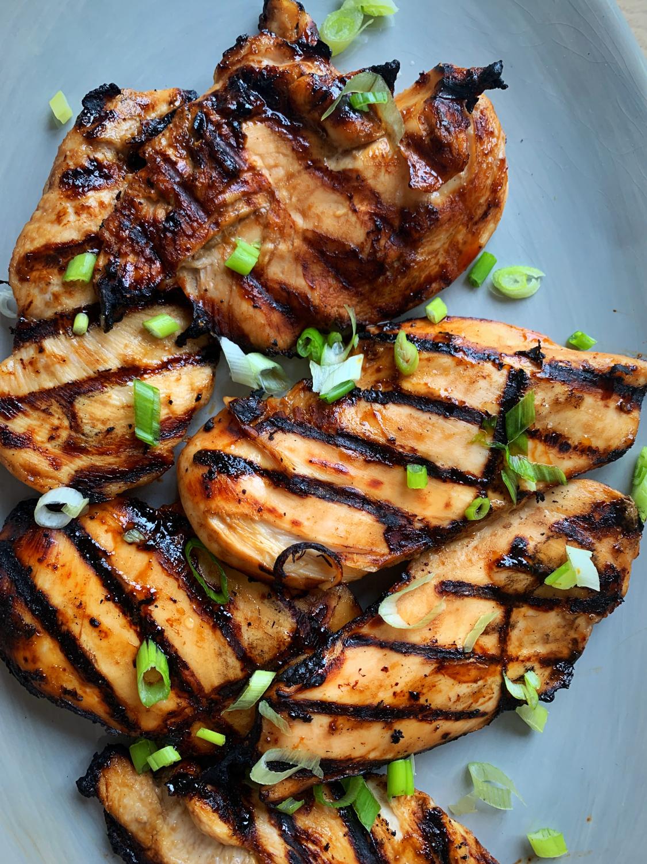 Miso Teriyaki Chicken aka The Best Grilled Chicken