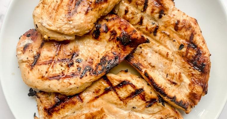 The Ultimate Grilled Chicken Marinade (Paleo, Dairy Free, Gluten Free)