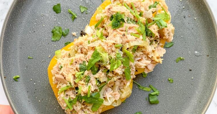 The Best Mayo-Free Tuna Salad.               (Paleo, Dairy Free, Gluten Free)
