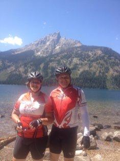 Ron & I by Lake Jenny
