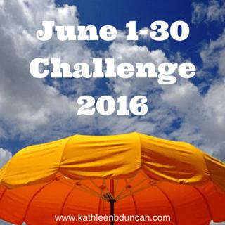 June 1-30 Challenge
