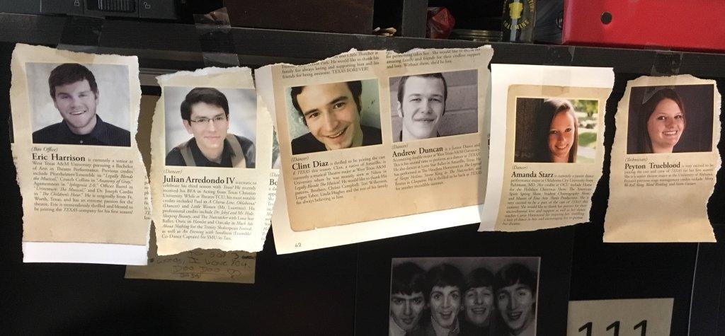 Eric, Amanda, Julian, Clint & Andrew. The TEXAS Angels. Plus Peyton.