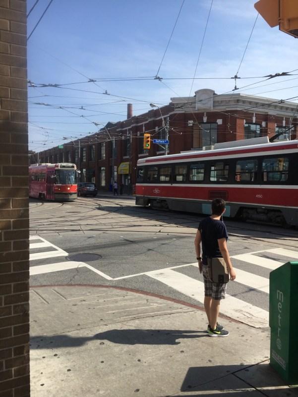Trolleys in Toronto