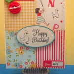 Birthday Card using Sidewalks Collection by OA