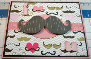 I Mustache You Card