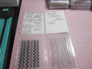 Stamps stored in Stampin' Up's Stamp Storage Cases