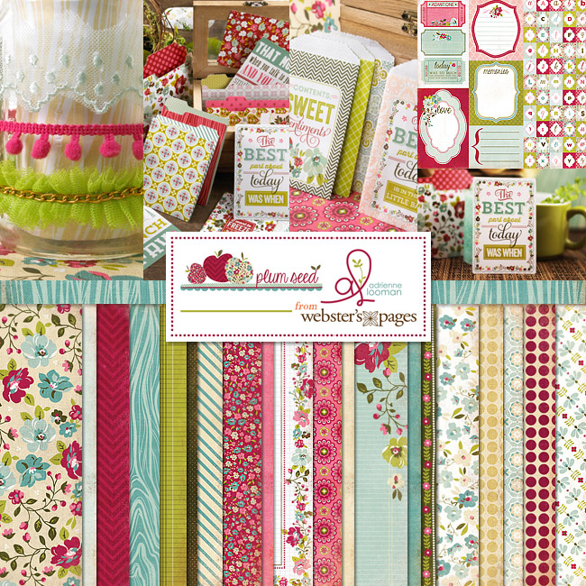 Plum Seed collection by Webster's Pages