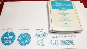 Stampin' Up Inks
