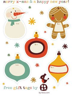 Free (Mostly) Christmas Printables - ALL FREE! - Kat's Adventures ...