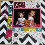 Cuteness – A Scrapbook Page