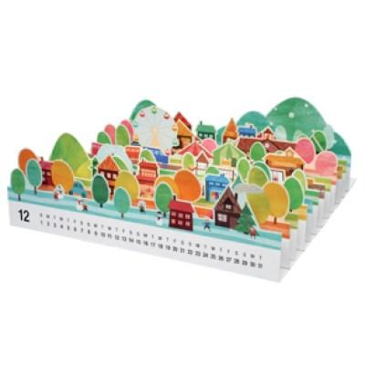 free printable 3d calendar