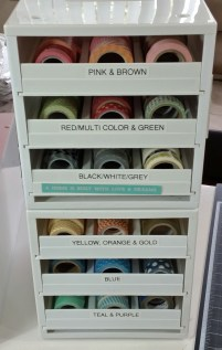 Kat's Washi Tape Storage Solution