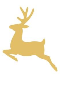 Free printable reindeer