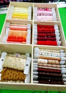 Kat's Ribbon Storage