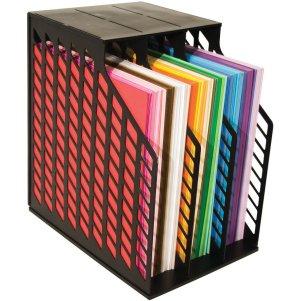 Vertical 12x12 paper storage