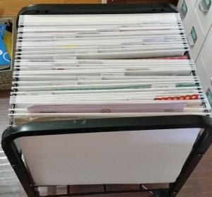 Cropper Hopper Hanging File Paper Storage