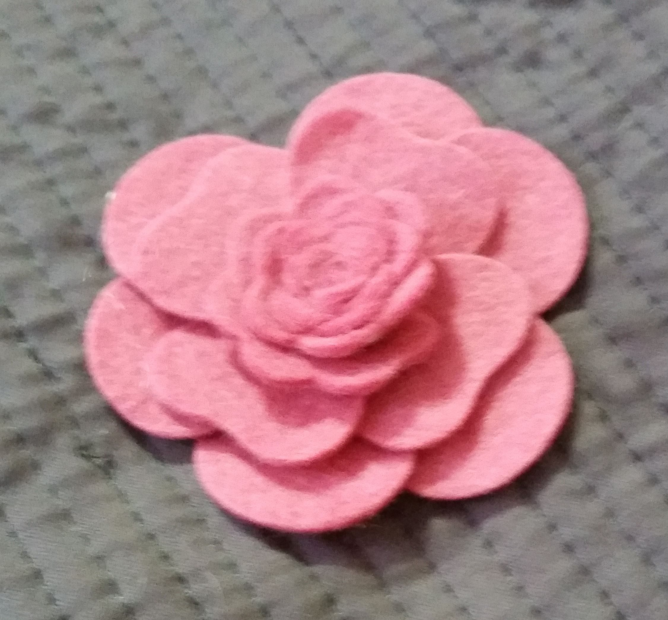 Tutorial how to create felt flowers using mfts hybrid camellia i have had many inquiries about the felt flowers ive been using on my last few scrapbook pages so i decided to make a video tutorial showing how to make baditri Gallery