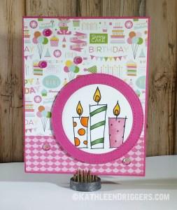 Little Girl Birthday Card
