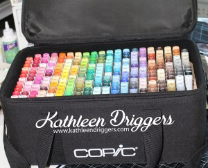 Kat's Copic Marker Bag with Insert