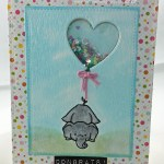 Baby Shaker Card With Process Video