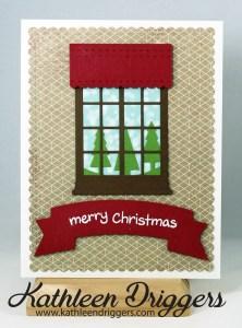 Window Watching Card
