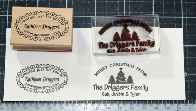 Stampin Custom Stamps For Your Cards Save 10 Off Next Order At The Place With Coupon Code 10OFFTSP