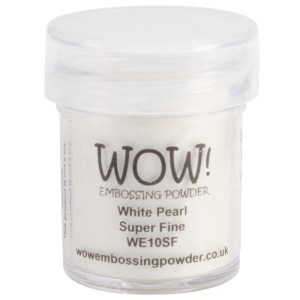 wow super fine white pearl embossing powder