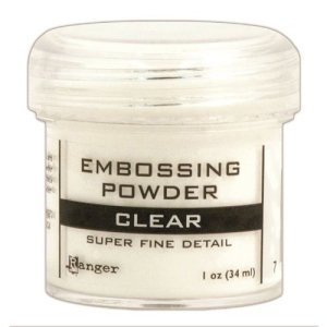 ranger super fine clear embossing powder