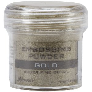 ranger super fine detail gold embossing powder