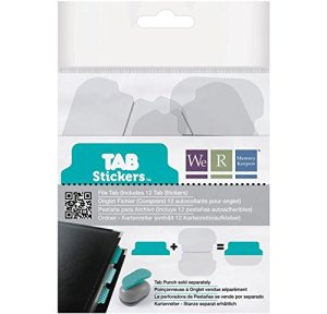 Tab Punch Stickers