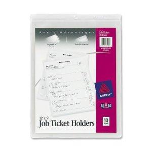 Job Ticket holders - scrap cardstock storage