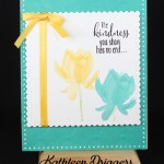 Same But Different Cards Using Stampin' Up's Lotus Blossom Stamp Set