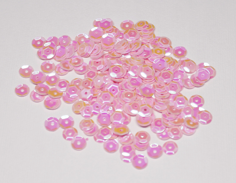 6mm Pink Cotton Candy