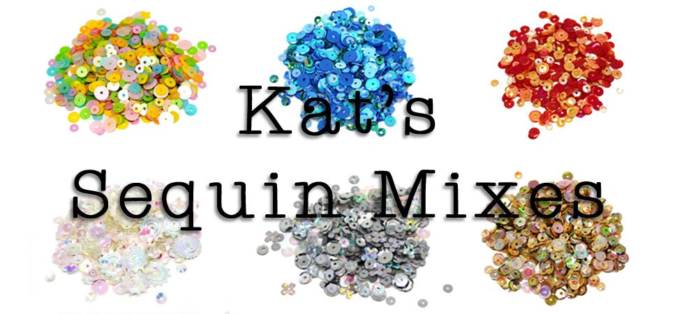 Custom Sequin Mixes from Kat Scrappiness.com