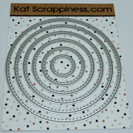 Kat Scrappiness Stitched Circle Dies