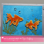 Any Occasion Card Featuring Hero Arts Goldfish Layering Stamps & Dies